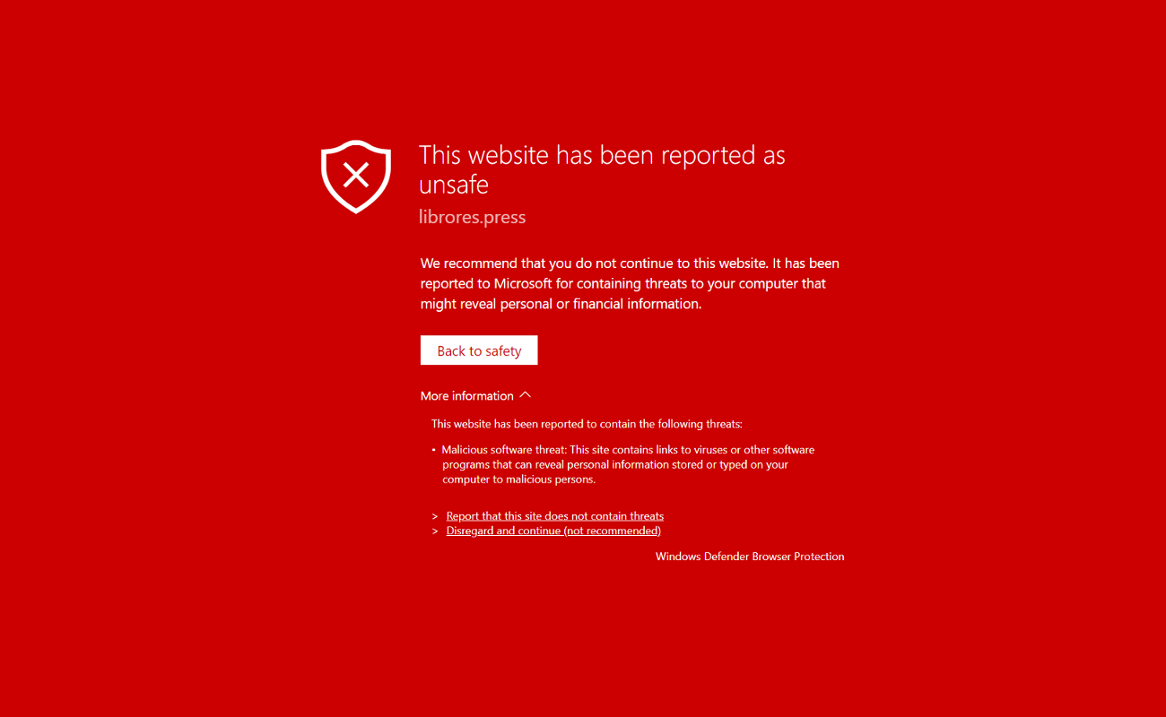 Windows Defender Browser Protection Chrome
