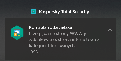 Kaspersky Total Security 2019 integruje się z Windows 10 i Centrum Powiadomień