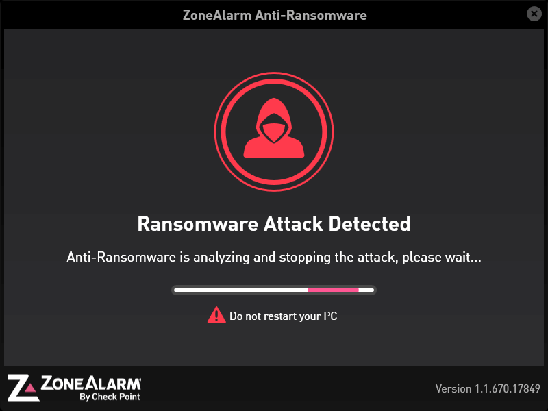 ZoneAlarm Anti-Ransomware