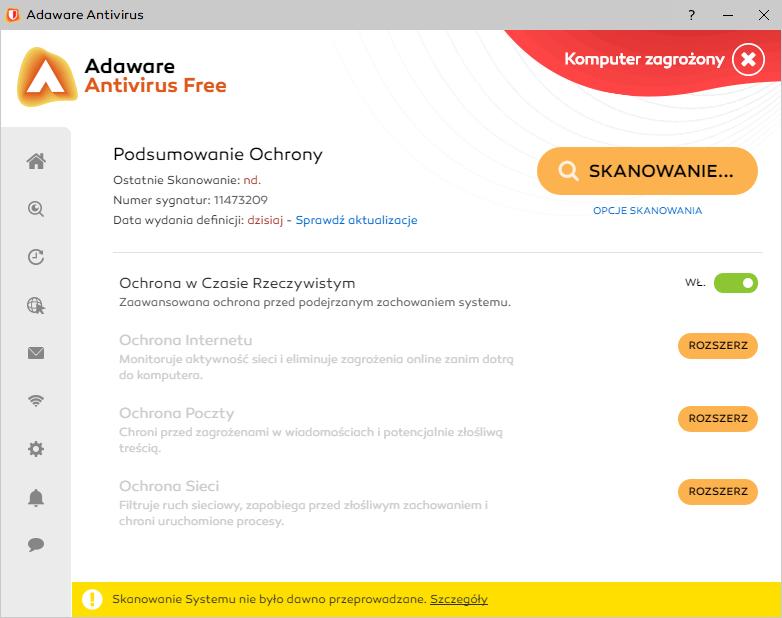 Darmowe antywirusy 2018 - Avaware Antivirus Free
